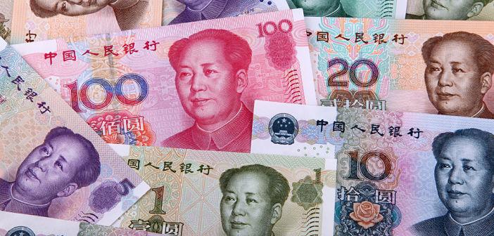 Euro/yuan test steun