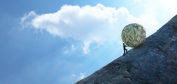 Wereldwijd schiet staatsschuld omhoog (niet zeuren)