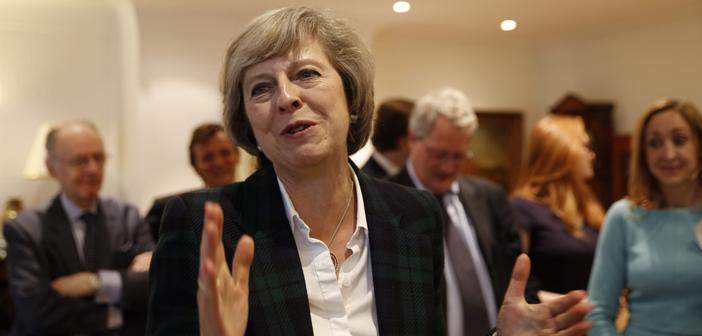 Valutaire steunbetuiging voor premier May